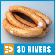 Sausage 03 by 3DRivers 3d model