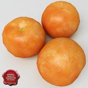 Mandarine 3d model