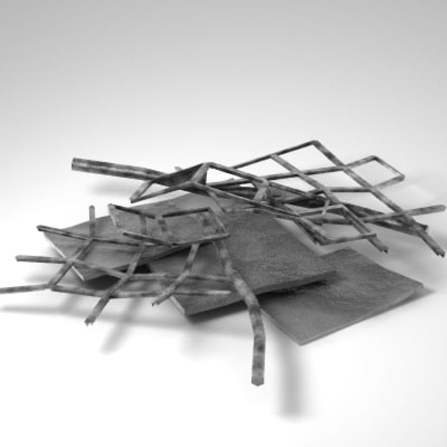 Debris_001.3ds royalty-free 3d model - Preview no. 1