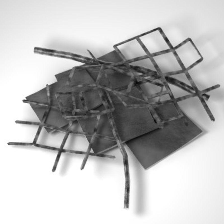 Debris_001.3ds royalty-free 3d model - Preview no. 2