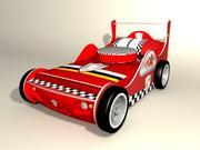 Race bed_ 3d model