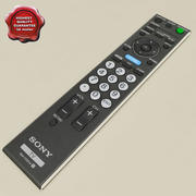 Sony remote 3d model