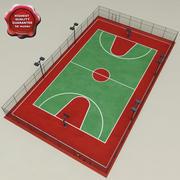 Basketbol Sahası V1 3d model