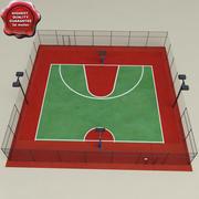 Basketball Court V2 3d model