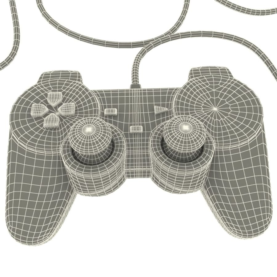 Sony Playstation 2 Controllers 3d Model 29 Xsi Obj Ma Max Controller