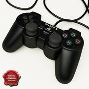 Sony PlayStation 2 Controllers 3d model
