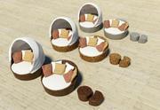Design Outdoor Furniture Serie I 3d model