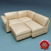 Sofa V25 3d model