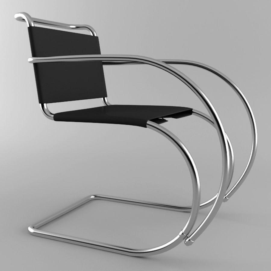 Mr sandalye royalty-free 3d model - Preview no. 1