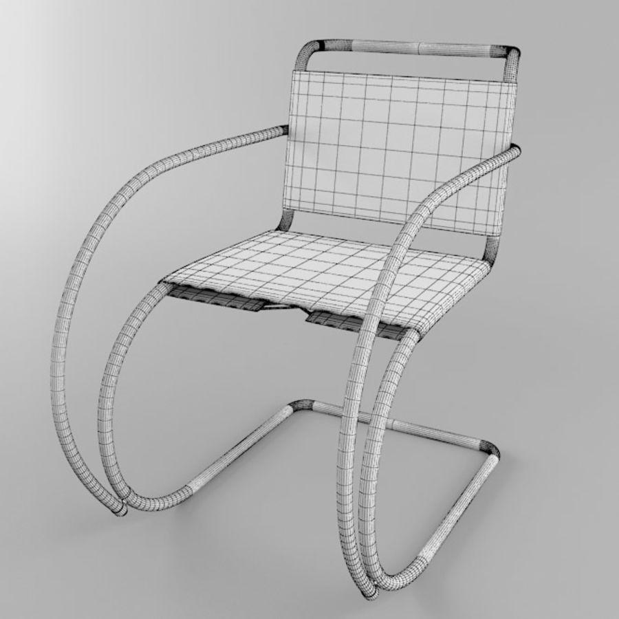 Mr sandalye royalty-free 3d model - Preview no. 3