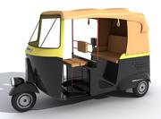 Riquixá Automático 3d model