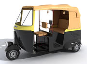 Auto Rickshaw modelo 3d