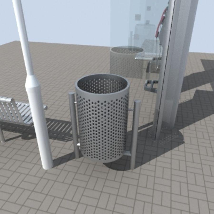 city-meubelen royalty-free 3d model - Preview no. 4
