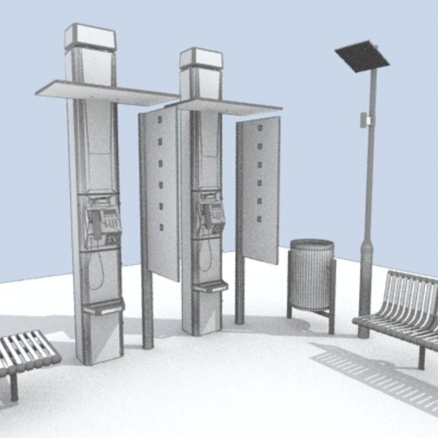 city-meubelen royalty-free 3d model - Preview no. 8