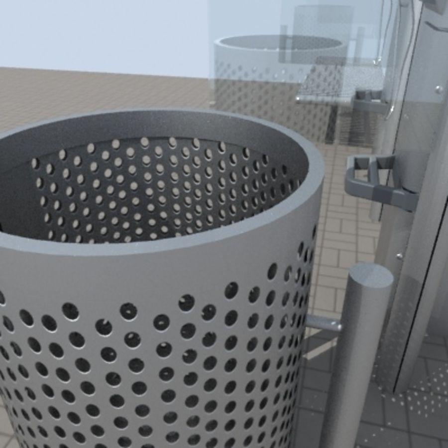 city-meubelen royalty-free 3d model - Preview no. 5