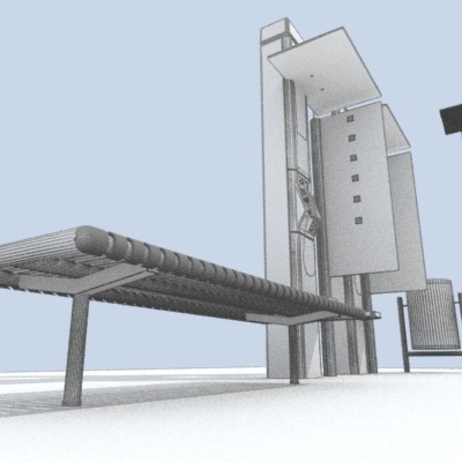 city-meubelen royalty-free 3d model - Preview no. 9