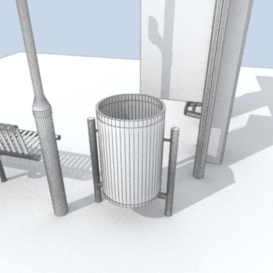 city-meubelen royalty-free 3d model - Preview no. 11