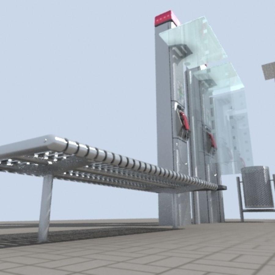city-meubelen royalty-free 3d model - Preview no. 2