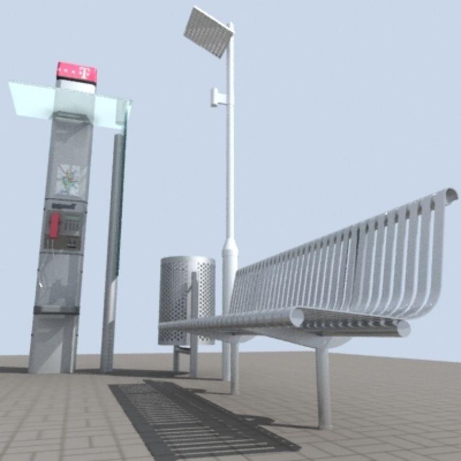 city-meubelen royalty-free 3d model - Preview no. 3