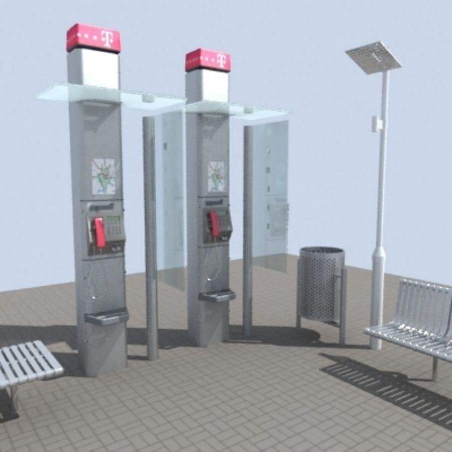 city-meubelen royalty-free 3d model - Preview no. 1