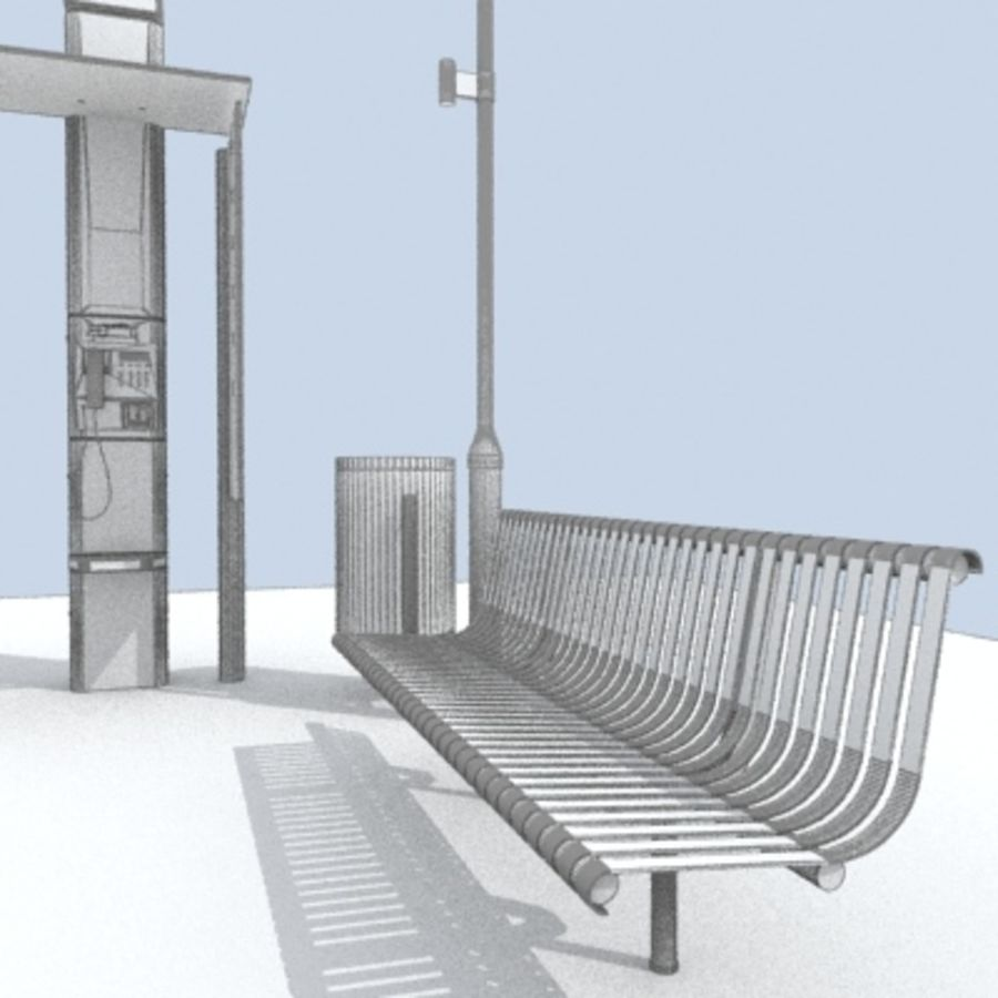 city-meubelen royalty-free 3d model - Preview no. 10