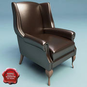 Fotel klasyczny V3 3d model