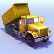 Dumper Truck 3DModel 3d model