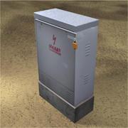 UTILITY BOX 003.blend 3d model