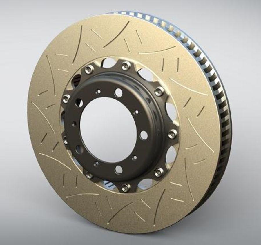 brake disc royalty-free 3d model - Preview no. 1
