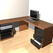 Офисный стол 3d model