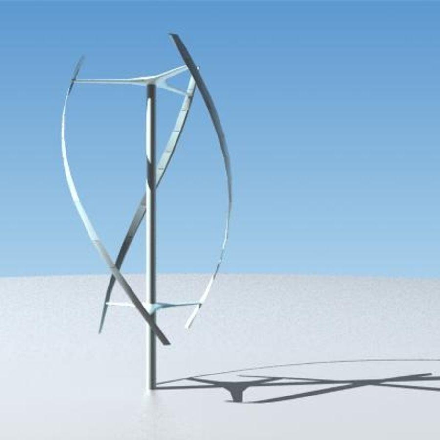 Windkraftanlage 2 3dsmax royalty-free 3d model - Preview no. 1