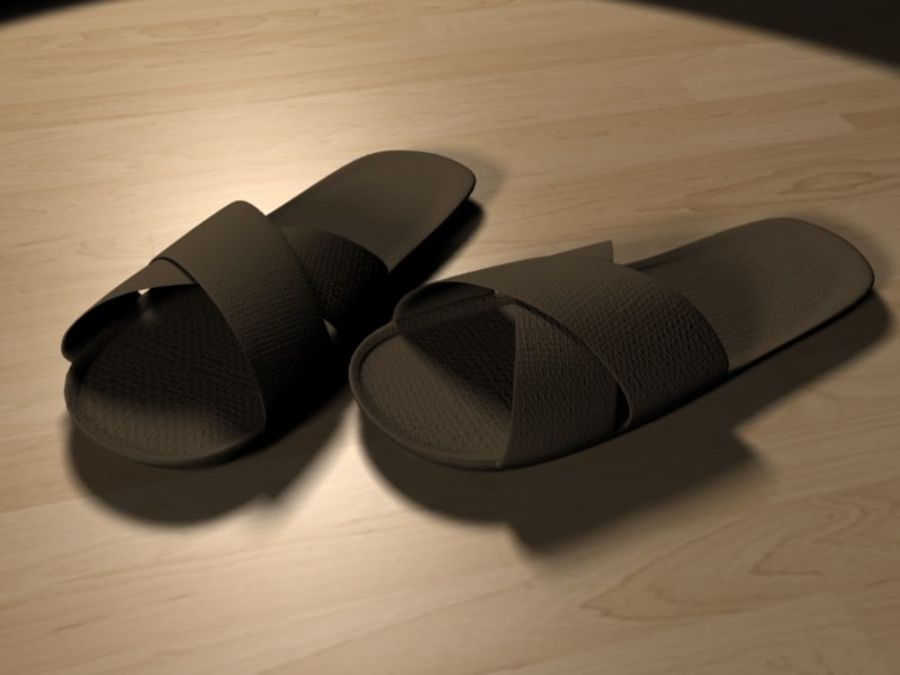 Shoes11 royalty-free 3d model - Preview no. 1