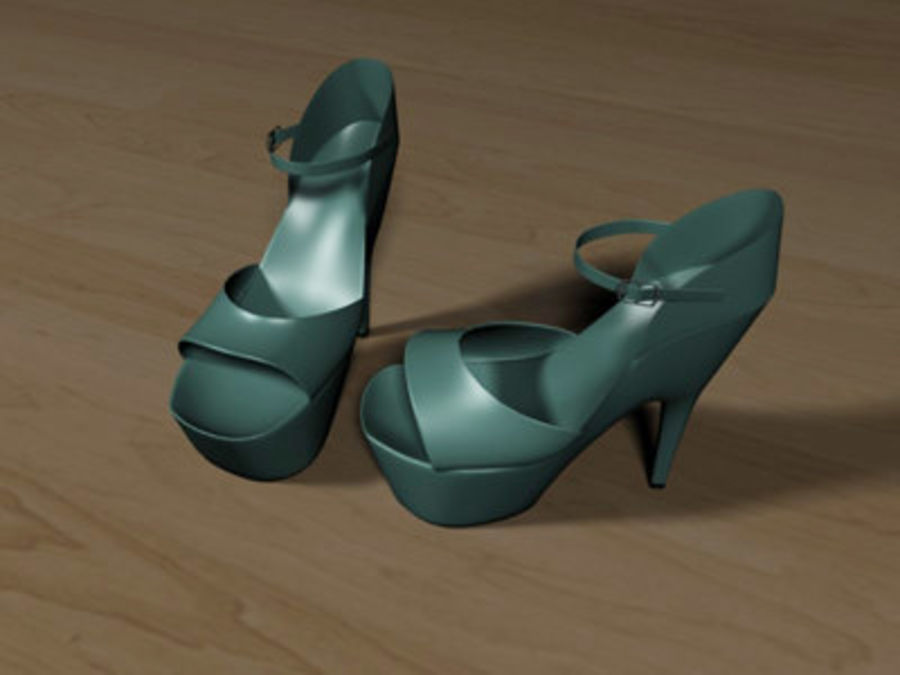 Shoes7 royalty-free 3d model - Preview no. 1