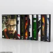 PC DVD FPS Game Collection 3d model