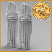 Cricket Pad 3d model