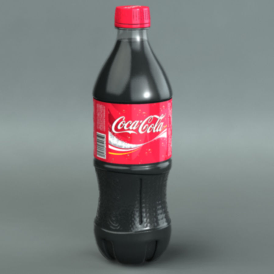 Garrafa de refrigerante royalty-free 3d model - Preview no. 1