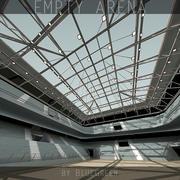 3d Empty Arena 3d model
