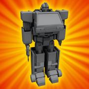 Robo - Van 3d model