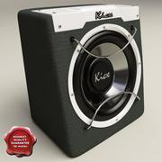 Kicx ICQ-300 Black 3d model