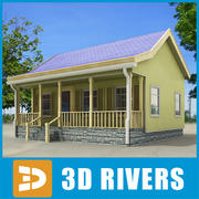 Small town house 07 by 3DRivers 3d model