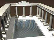 Roman Baths 3d model