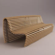 Titikaka Bench 3d model