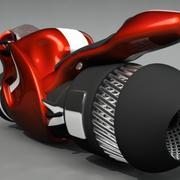 ジェットバイク 3d model