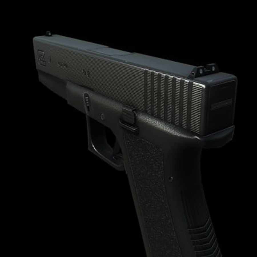 Glock 17 royalty-free modelo 3d - Preview no. 2