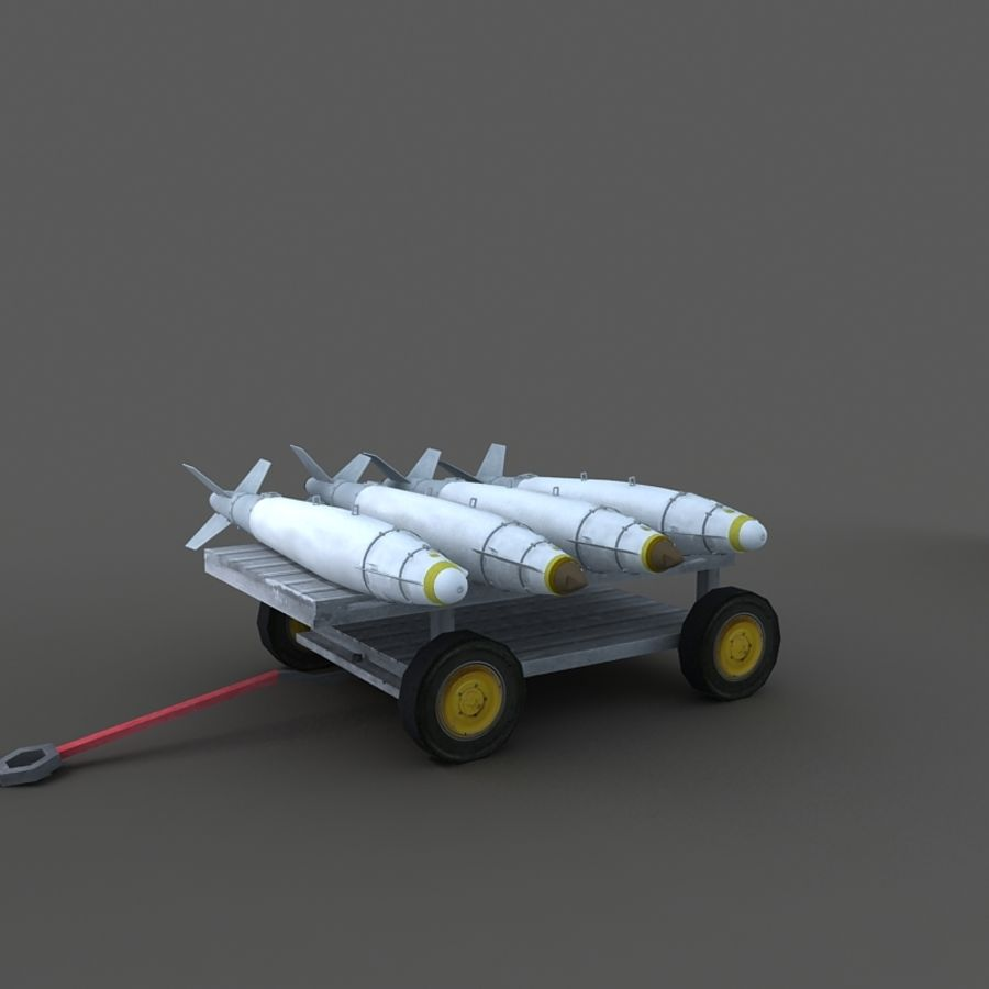 Cart royalty-free 3d model - Preview no. 6