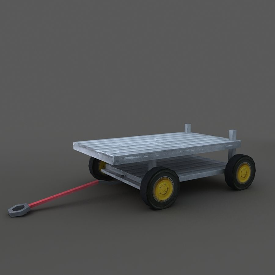 Cart royalty-free 3d model - Preview no. 5