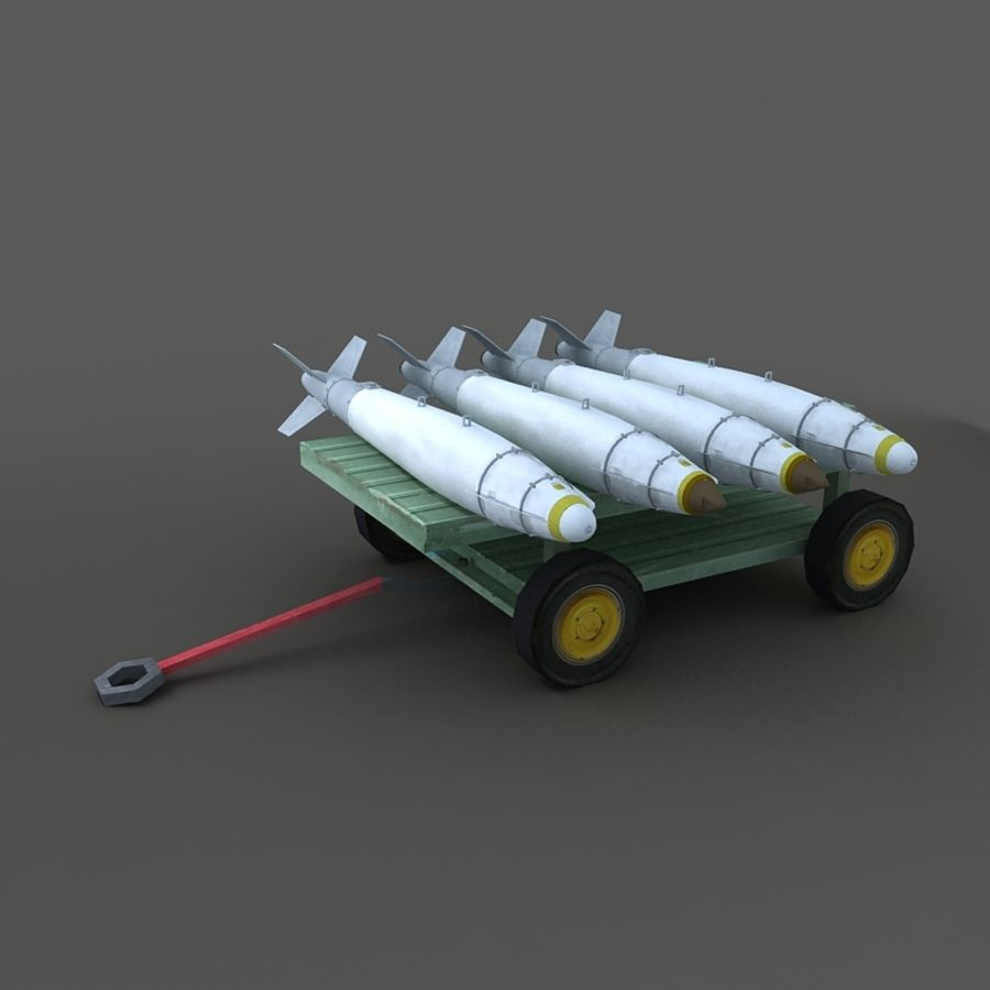 Cart royalty-free 3d model - Preview no. 3