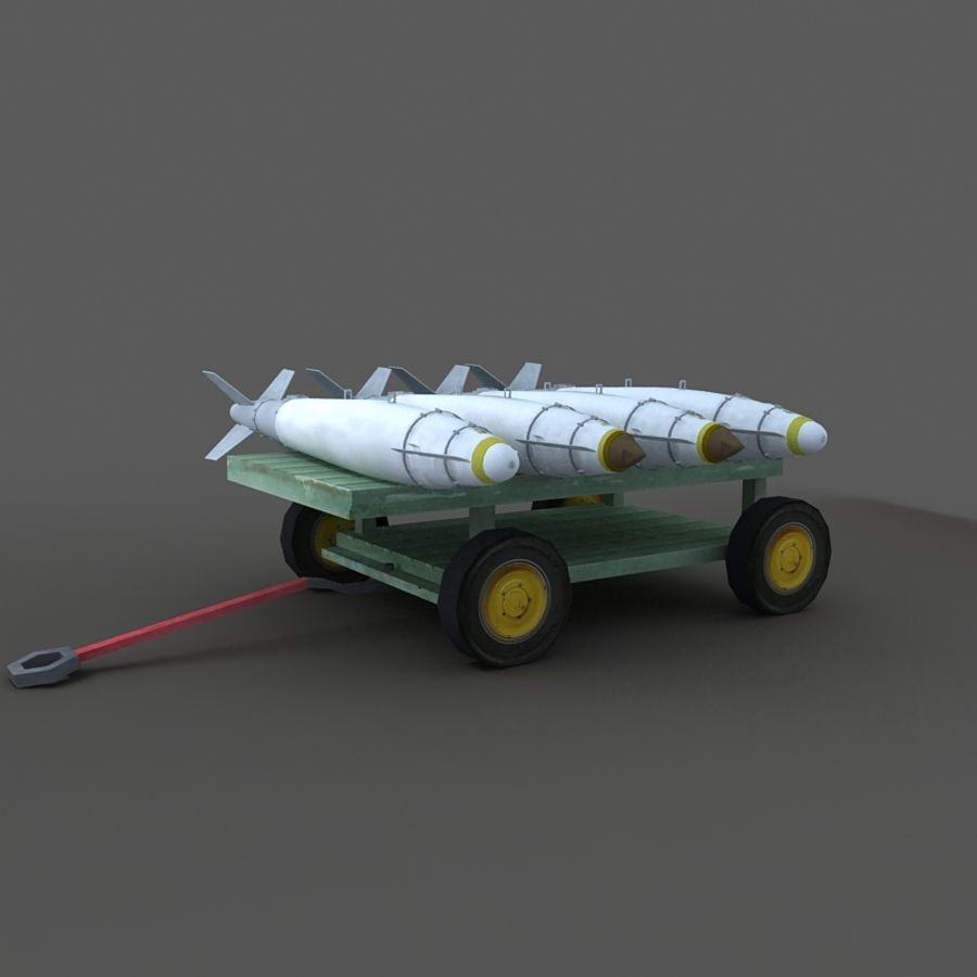 Cart royalty-free 3d model - Preview no. 4