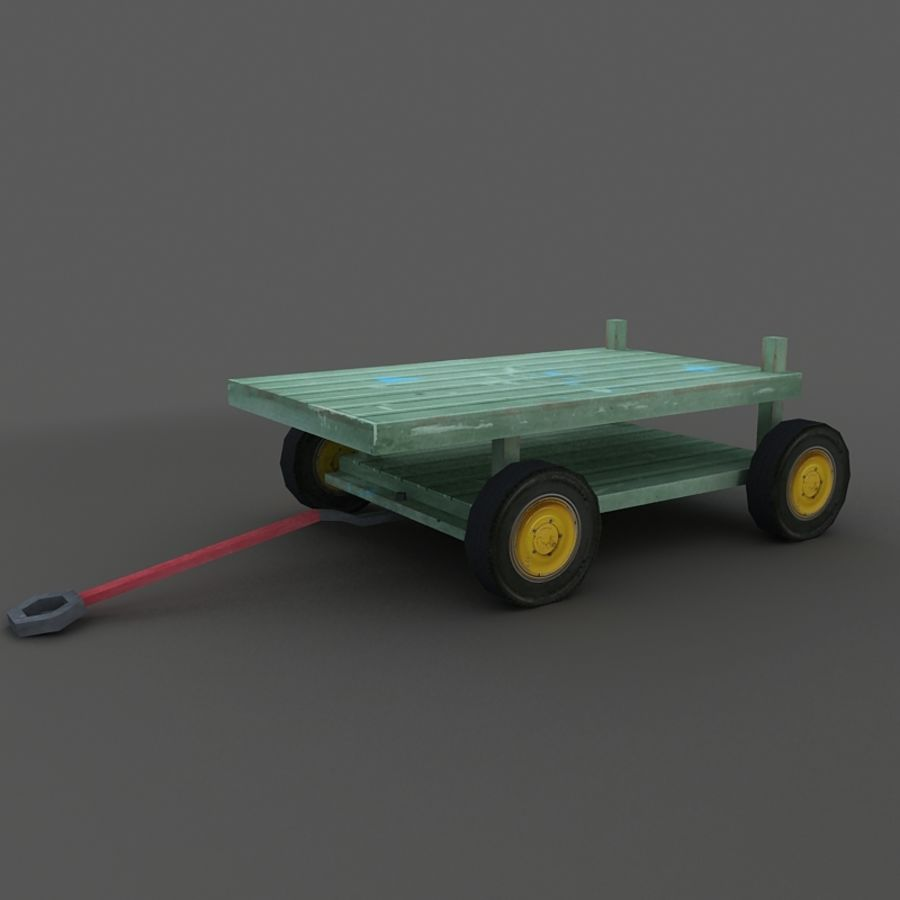 Cart royalty-free 3d model - Preview no. 1