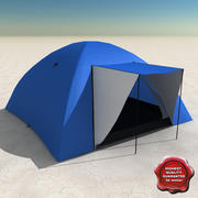 Barraca de Acampamento V2 3d model